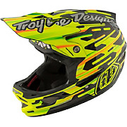 Troy Lee Designs D3 Carbon MIPS - Code Yellow 2017