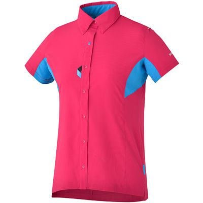 1670f780cc1a9 Shimano Womens Button Up Shirt SS16 | Action Sports Club