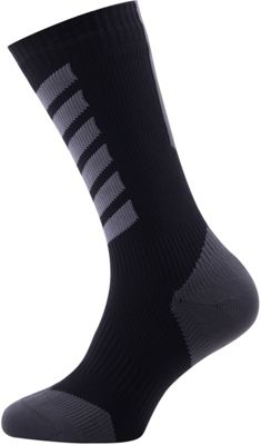 Chaussettes SealSkinz Thin Mid avec Hydrostop SS17
