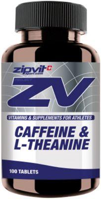 100 Tablettes Zipvit Cafféine + L-Théanine