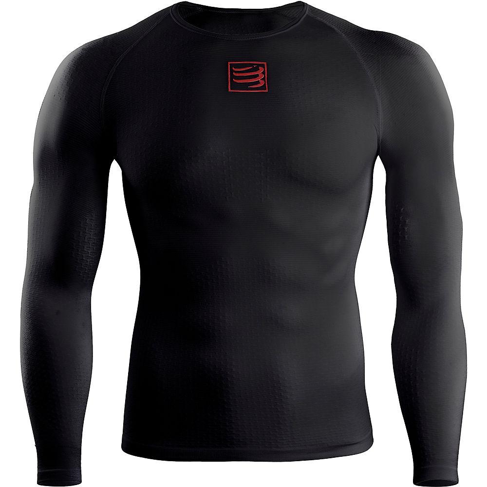 Camiseta de manga larga térmica y ultraligera Compressport 3D