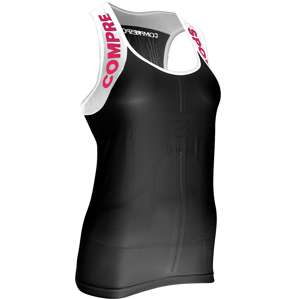 Camiseta de tirantes de mujer Compressport Pro Racing V2 2017