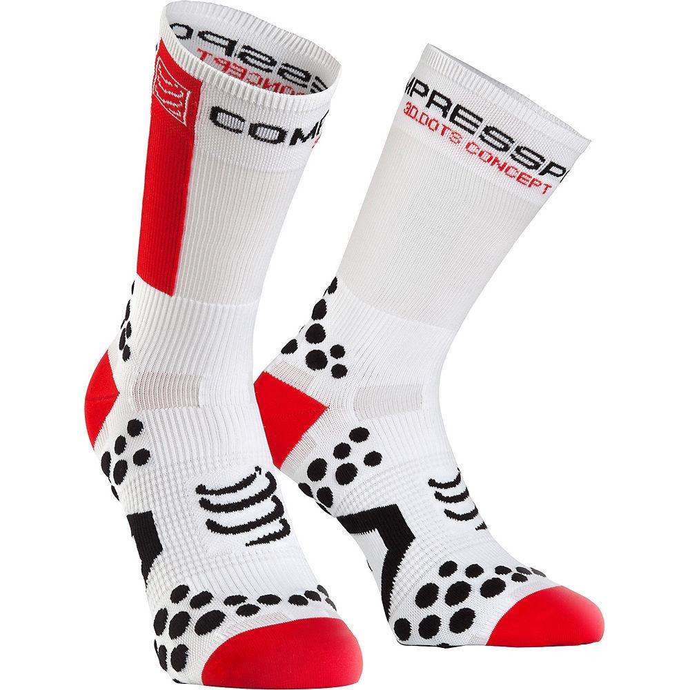 Calcetines altos de ciclismo Compressport Pro Racing v2.1