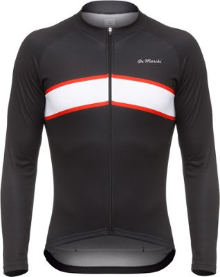 Maillot route à manches longues De Marchi Arrow Thermal AW17