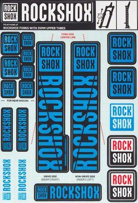 Kit autocollants RockShox (35mm)