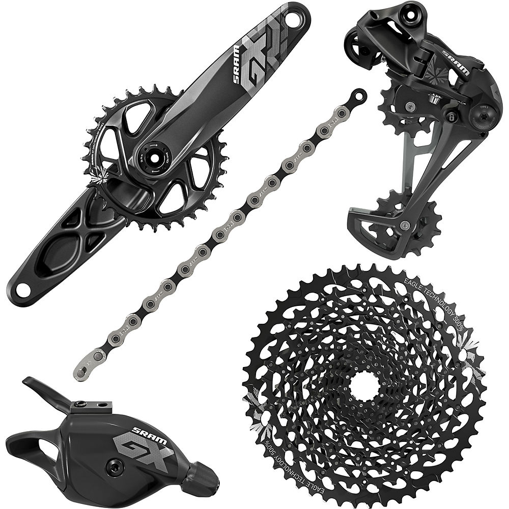 Grupo SRAM GX Eagle 12sp Groupset - GXP