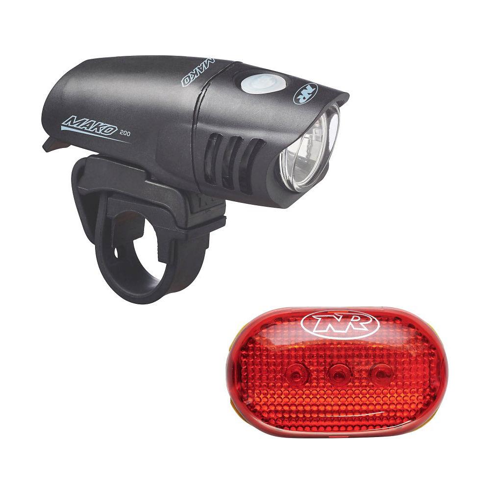 Combo de luces Nite Rider Mako 200 / Tl 5.0 Sl