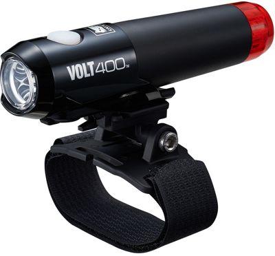 Eclairage arrière Cateye Volt 400 Duplex (pour casque)