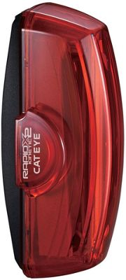 Eclairage arrière Cateye Kinetic X2 (rechargeable)