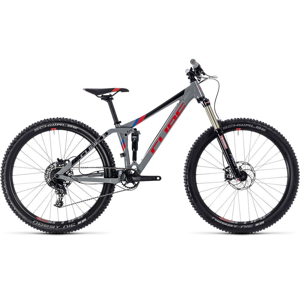 Bicicleta juvenil de MTB Cube Stereo 140 2018