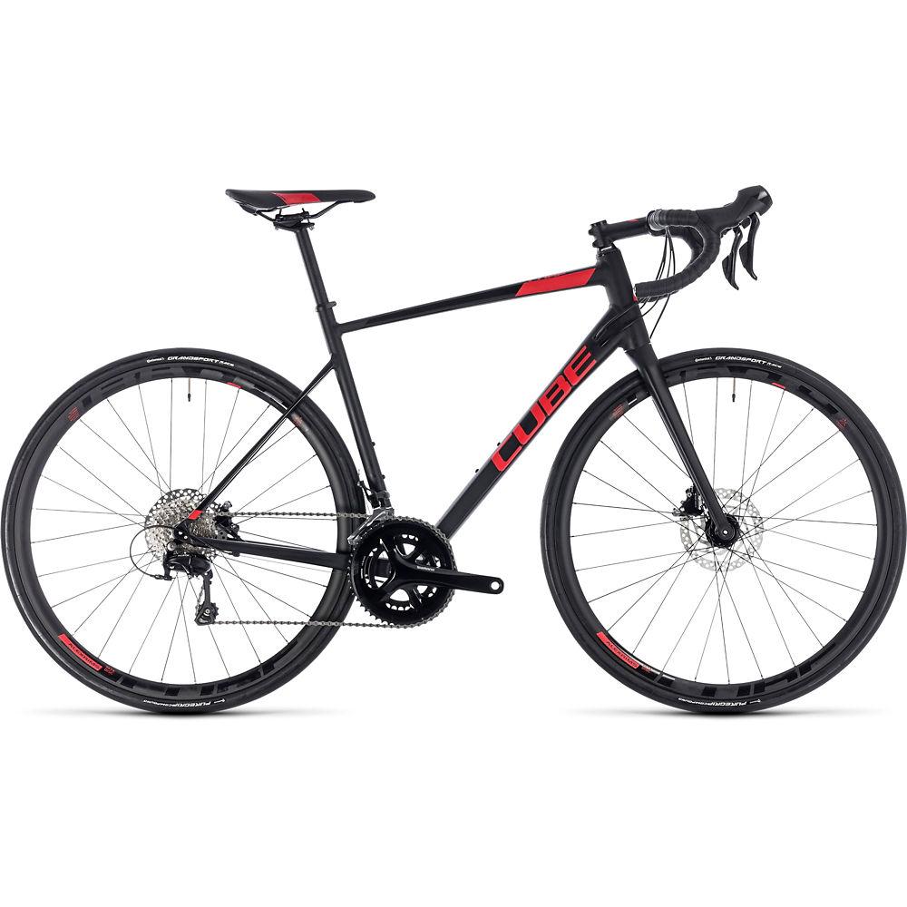 Bicicleta de carretera de disco Cube Attain SL 2018