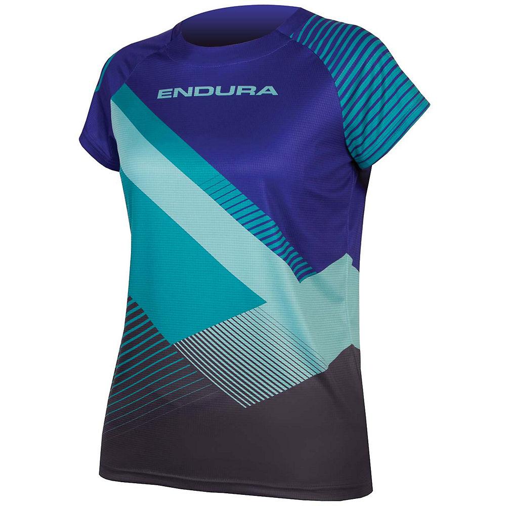 Camiseta de mujer Endura Singletrack Print II SS18