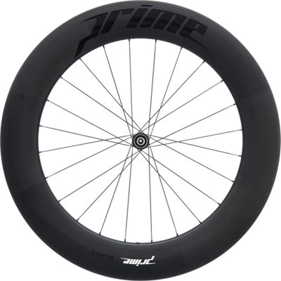 Roue avant Prime BlackEdition 85 (carbone, disque)