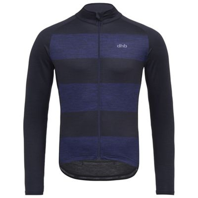 Maillot à manches longues dhb Classic - bandes larges SS18