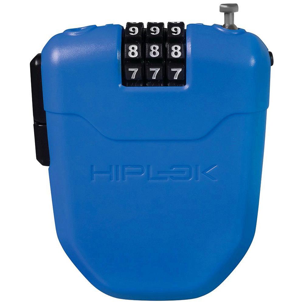 Candado de bici portable Hiplok FX (cable retráctil - 1 m)