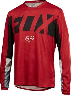 Maillot à manches longues Fox Racing Indicator Drafter SS18