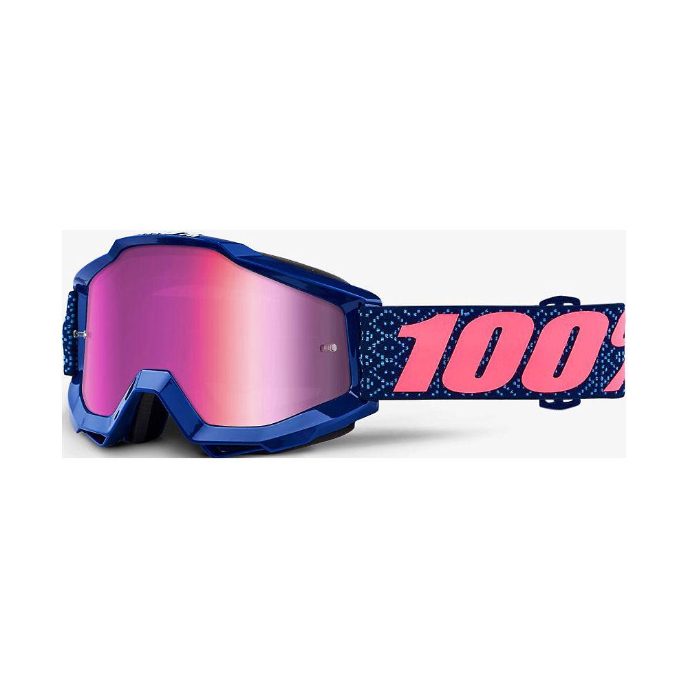 Gafas de natación 100% Futura (lente espejo rosa) SS18