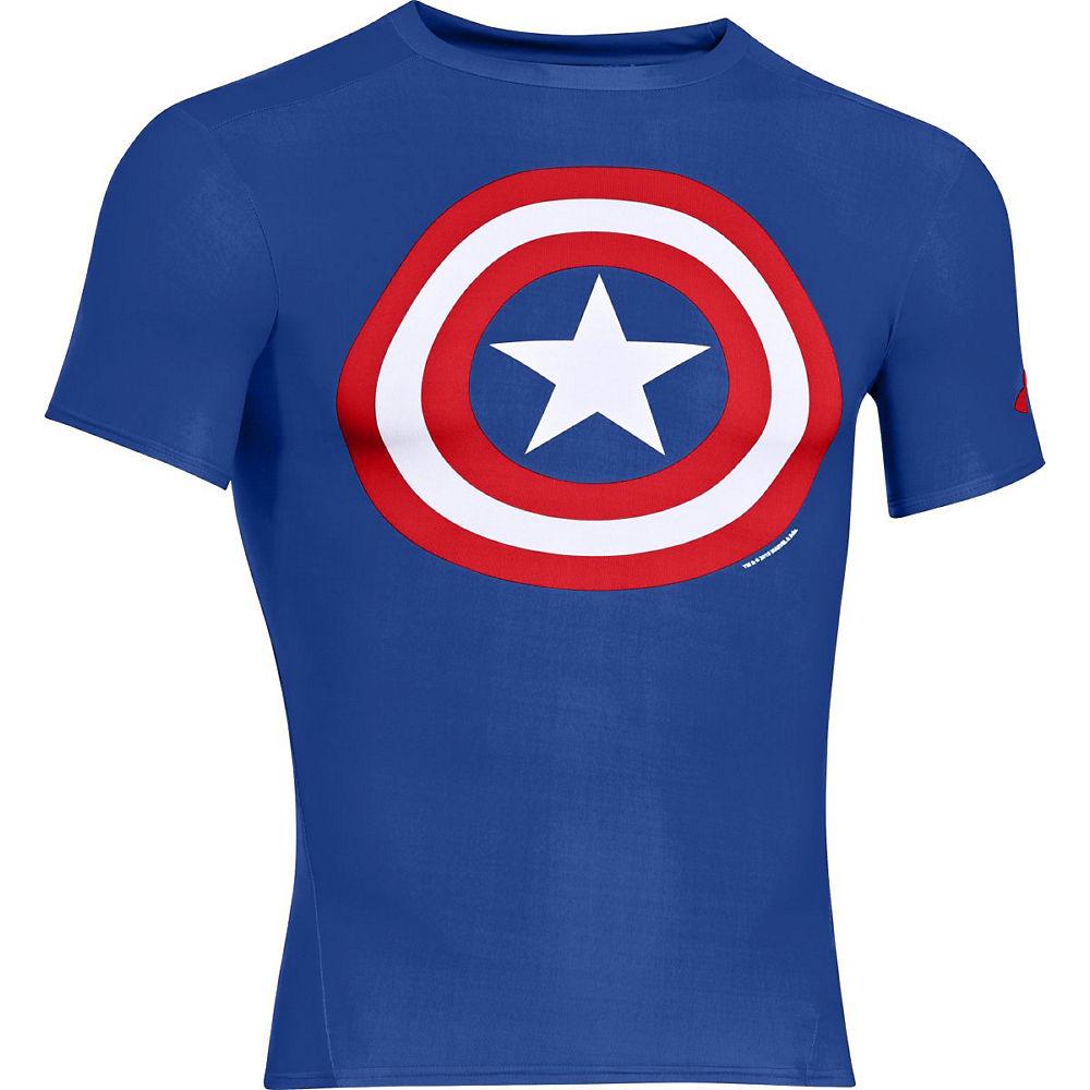 Camiseta de compresión Under Armour Alter Ego (Captain America)