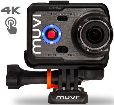 Kit Veho Muvi K-2 Pro 4K Action Camera 2017