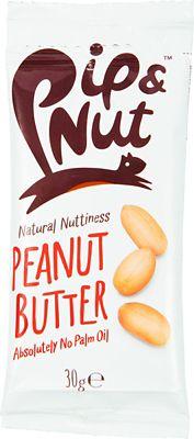 Paquetes para estrujar de mantequilla de cacahuete Pip & Nut (20 x 30 gr)