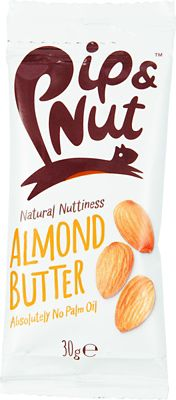 Beurre d'amandes Pip & Nut Squeeze Pack (20 x 30 g)