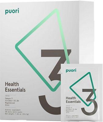 Sachets Puori 3 (huile de poisson, magnésium et vitamine D)