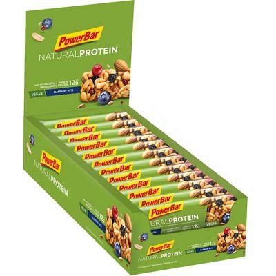 Barres protéinées PowerBar Natural (30 % de protéines, 24 x 40 g)