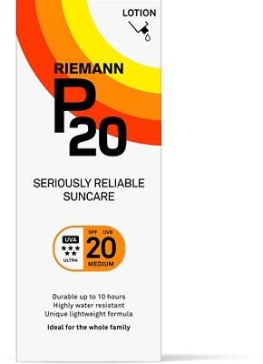 Lotion solaire P20 SPF 20 (200 ml)