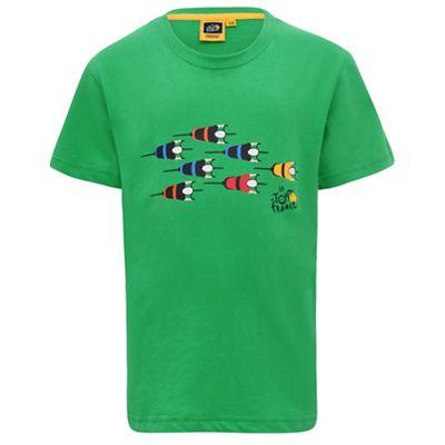 T-shirt Le Coq Sportif Cyclistes Logo Enfant 2018