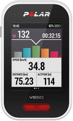 Compteur cycliste Polar V650 2018
