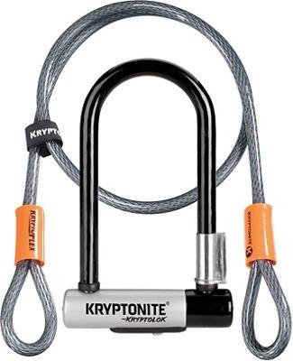Mini antivol en U Kryptonite 7 (et câble Kryptoflex)