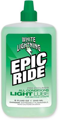 Lubrifiant White Lightning Epic Ride (bouteille de 240 ml)