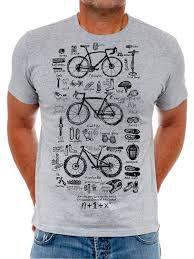 Cycology Bike Maths T-shirt 2018