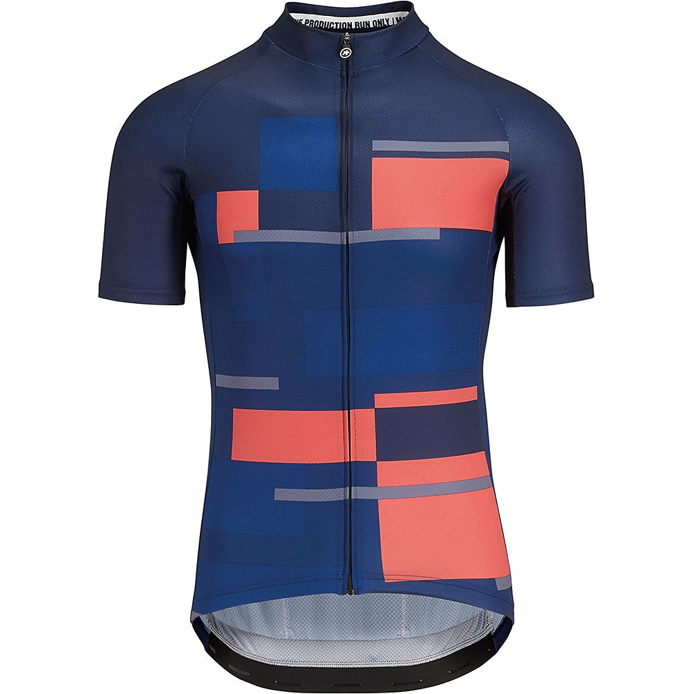 Assos Fast Lane Anthracite Jersey (Navy) SS18
