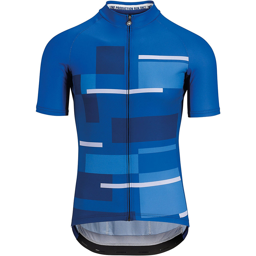 Assos Fast Lane Anthracite Jersey (Navy Blue) SS18