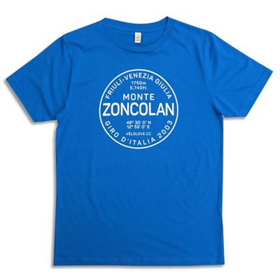 Velolove Monte Zoncolan Organic T-Shirt SS18