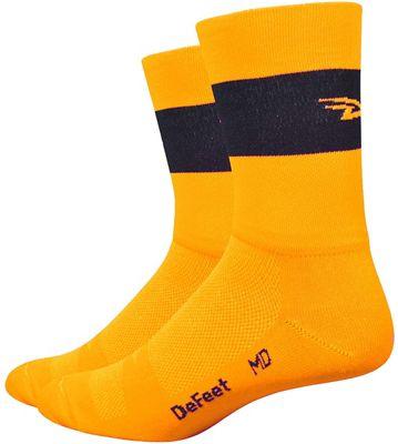 Defeet Aireator 5'' Team DeFeet Hi-Vis Socks