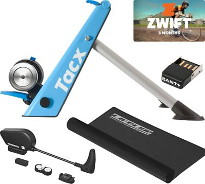 Tacx Blue Matic Folding Zwift Bundle