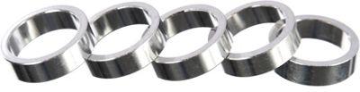 Pack d'entretoises Brand-X de 5 x 10 mm en aluminium