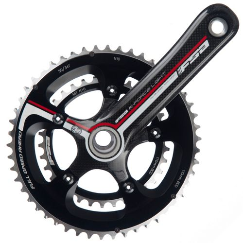 Fsa K Force Light Bb30 Compact 10sp Chainset Chain