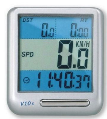 Compteur Topeak Panoram V10X - 10 fonctions, avec fil