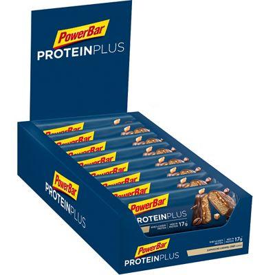 Barres énergétiques PowerBar Protein Plus 30% Bars 55g x 15