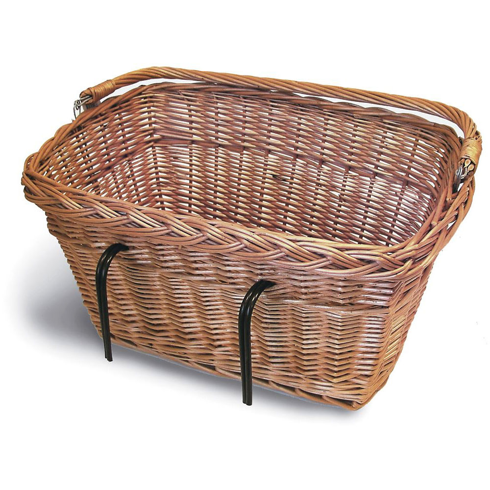 Cesta delantera rectangular Basil Wicker