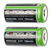 Exposure Spark Re-Chargable Batteries