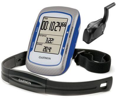 GPS Garmin Edge 500 HRM Cardio + Cadence Bleu