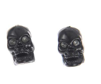 Bouchons de valve Trik-Topz en forme de tête de mort