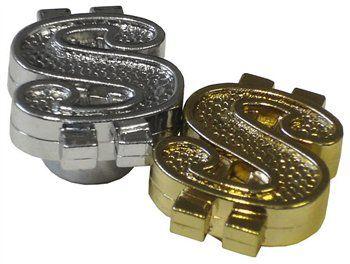 Bouchons de valve Trik Topz en forme de signe de dollar