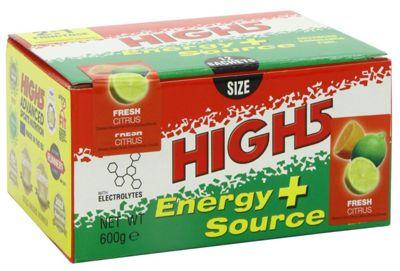 Sachets de boisson caféinée High5 Energy Source Plus