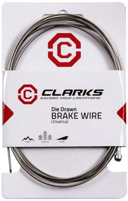 Câble de frein pour vélo route Clarks en acier inoxydable
