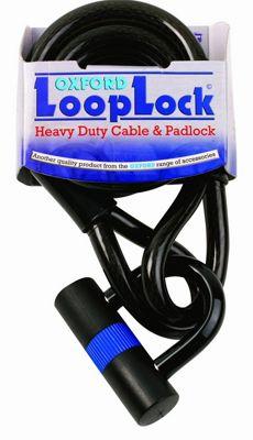 Cadenas antivol Oxford Loop Lock laminé et résistant
